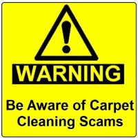 Suwanee Carpet Cleaning Scam